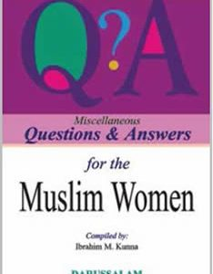 Questions & Answers on Muslime Women