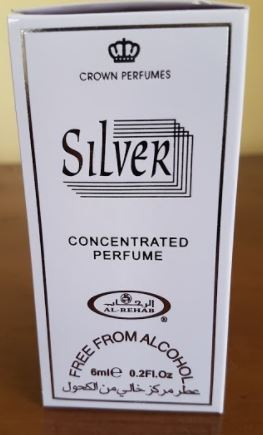 Al-rehab SILVER Concentrated Perfume Oil